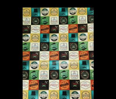 LOTE DE 50 PAPELES DE REGALO HIPSTER (MEDIDA PAPEL 52 X 76 CM) para regalar A7080