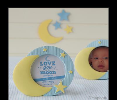 Marco fotos baby Luna y Estrellas AZ1970