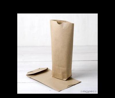 Pack 50 bolsas papel kraft 12x22.5X5cm. preciox50u. AE21