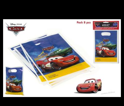 PACK 8 BOLSITAS PARTY CARS para regalar A7035