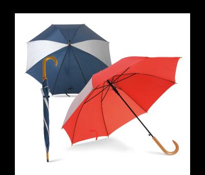 Paraguas cabo en metal y mango en madera - st-99120.5