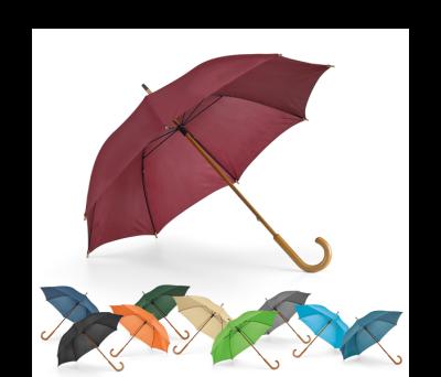 Paraguas con cabo y mango de madera - st-99100.13