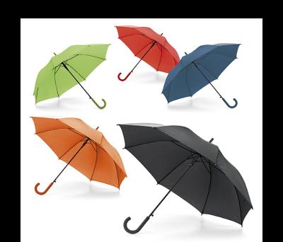Paraguas con mango con acabado de goma - st-99134.03