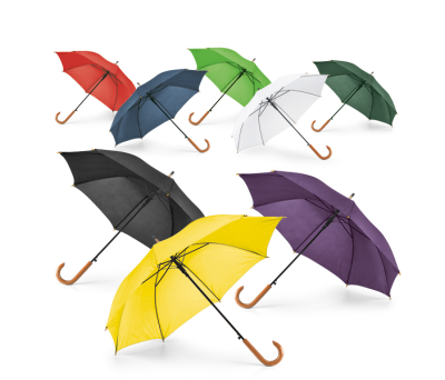 Paraguas con mango de madera - st-99116.4
