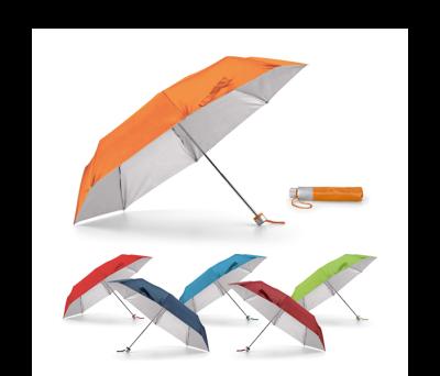 Paraguas plegable suministrado en funda - st-99135.22