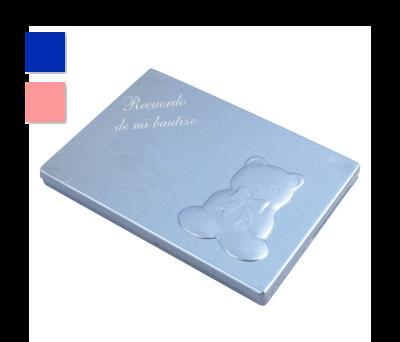 PEINE ESPEJO OSITO - A6529-Azul