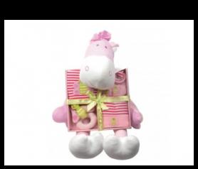 Peluche con conjunto para bebe niña para detalles de invitadosAP2944P40