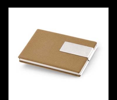 Porta-Tarjetas de aluminio y polipiel - st-93311.17