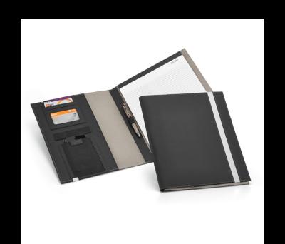 Portafolios A4 de polipiel y metal - st-92064.43
