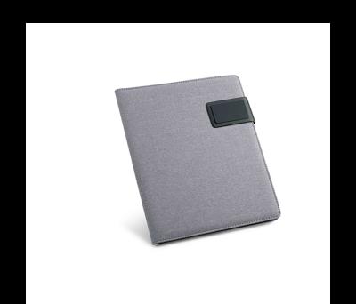 Portafolios A5 de imitación de lino y polipiel - st-92066.72