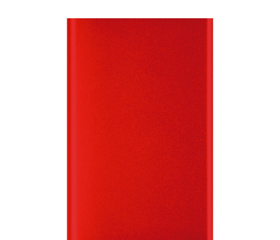POWER BANK SHINE ROJO METALIZADO - AGY36507ROMETAL