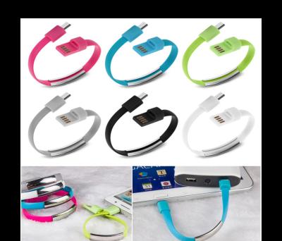 PULSERA MICRO USB DATOS PARA CARGAR TEL_E_FONOS CON EL PC para regalar ADK104