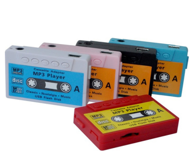 REPRODUCTOR MP3 CASSETTE RETRO EN CAJA  (CASCOS + CABLE) para regalar A4652