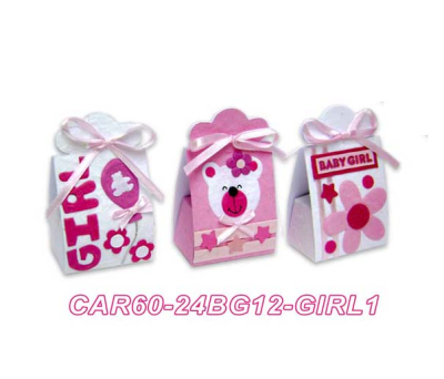 SET 24 CAJAS INFANTILES BABY GIRL para regalar A3010-BOX