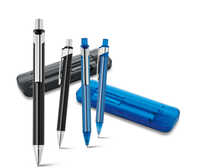 Set bolígrafo y portaminas Plock - st-91834.03