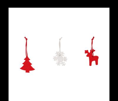 Set de 3 adornos de Navidad - st-99341.05