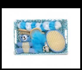 Set de baño para bebe Azul para detalles de invitadosA008-384370