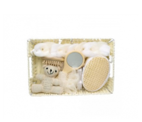 Set de baño para bebe Beige para detalles de invitadosA008-384300