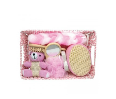 Set de baño para bebe Rosa para detalles de invitadosA008-384340