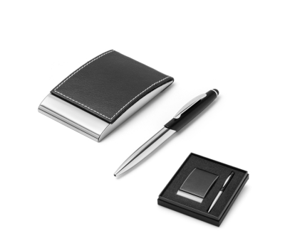 Set de bolígrafo y tarjetero - st-93323.03