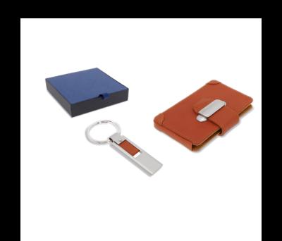 Set de porta-tarjetas y llavero - st-93050