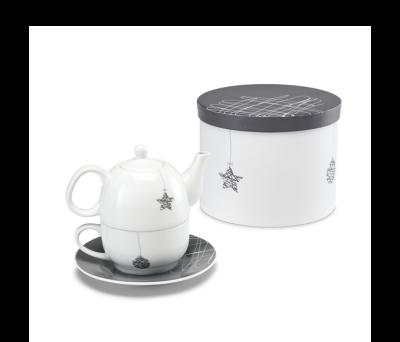Set de tetera y taza de té Navideño - st-93865.07