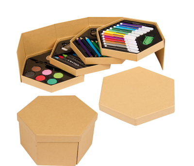 SET PINTURAS HEXAGONAL AGY34052