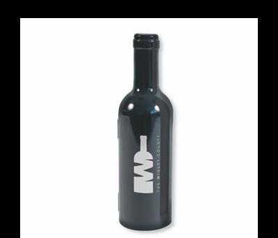 SET VINO MAGNUM NEGRO METALIZADO - AGY35012NEMETAL