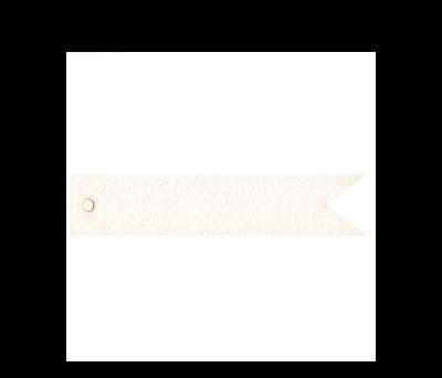 Tarjeta banderola personalizable 11x2cm. (preciox20u)  - AX481.01