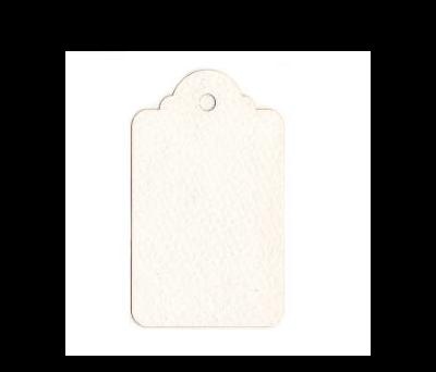 Tarjeta blanca candil 4x6cm (preciox21u) - AX475.01