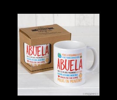 Taza cerámica Abuela en caja regalo - AG900.2.1