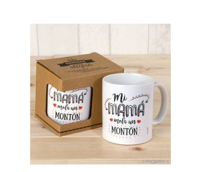 Taza cerámica Mi Mamá Mola en caja regalo - AG600.2.1