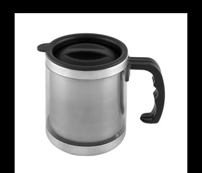 TAZA TERMO COFFEE PLATA - AGY38043PT