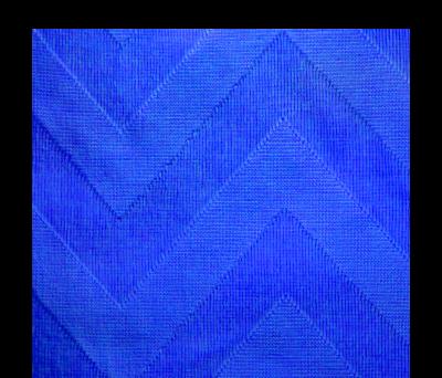 TOALLA PAREO ZIG ZAG AZUL - AGY38011AZ